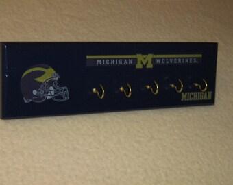Michigan Wolverine's key rack