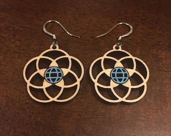 EPCOT Center Earrings