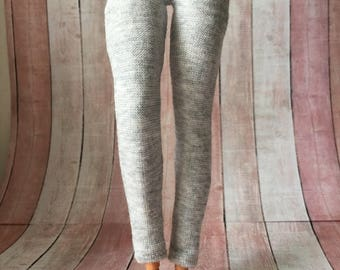 Grey 1/6 scale doll pants