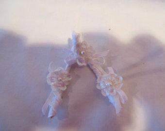 Wishbone, wishbone, white, silk