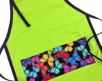 Butterflies Kid's Apron