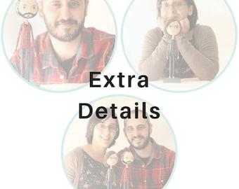Extra Details for Portrait Dolls