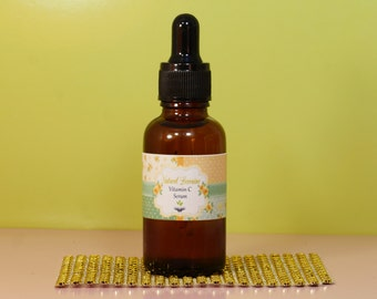 Anti Wrinkle L-Ascorbic acid -Vitamin C Serum 1oz with dropper, Anti Aging, Brighter Skin