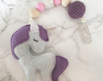 Einhyrningur * Unicorn * Stroller toy