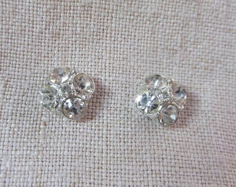 Vintage Rhinestone Scatter Pin 2 Pins