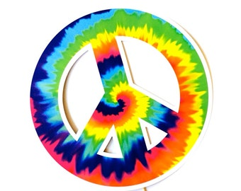"""Peace Sign Photo Booth Prop - LARGE 10.5"""" prop - Birthdays, Weddings, Parties - Photobooth Props"""