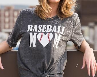 Baseball Mom - Mom shirt - Softball mom