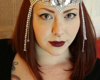 Silver Gatsby Headband