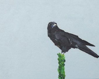 "8X10"" Crow Print, Guardian, Crow Art, Bird Print, Wall Art, Art Prints, Wildlife Print, Wildlife Art, Canadiana, Nursery Wall Art, Bird"