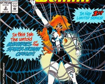 Vintage Comic Book, Spider-Woman, Vol 2 No 2, December 1993, Marvel Comics