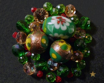 Murano glass and Czech glass beads