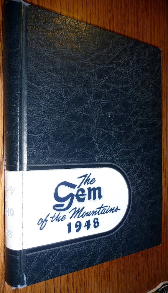 University of Idaho Yearbook (Annual) 1948 - Gem of the Mountains  - Moscow, ID Latah County