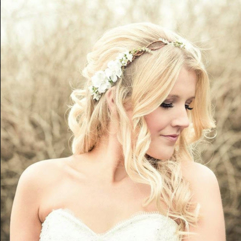 Rustic Flower Crown Wedding