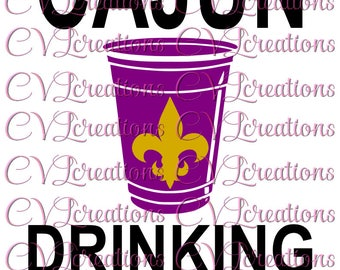 Cajun svg etsy cajun drinking team svg png dxf mardi gras m4hsunfo
