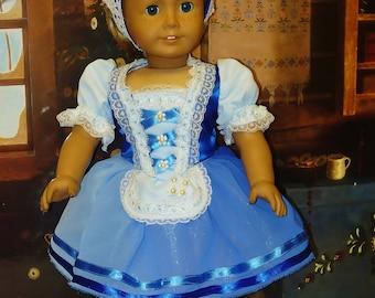 Giselle Acte 1 Costume de Ballet, s'adapte à American Girl poupées