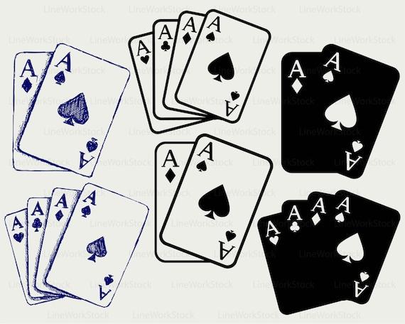gambling cards svg gambling clipart gambling svg gambling rh etsy com gambling clipart borders gaming clipart