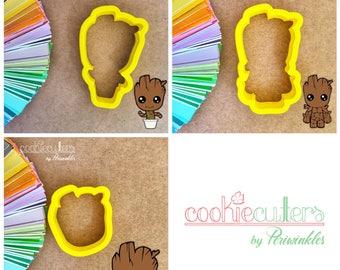Baby Groot Cookie Cutters - Periwinkles