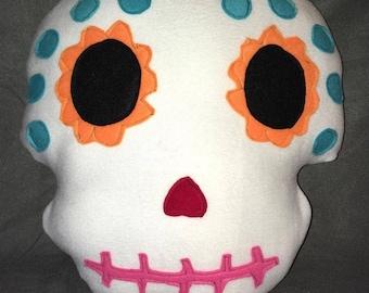 Coco Insipired Sugarskull Pillow Plush Sugar Skull