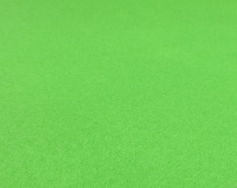 Neon Green Felt Sheets - 6 pcs - Rainbow Classic Eco Fi Craft Felt Supplies