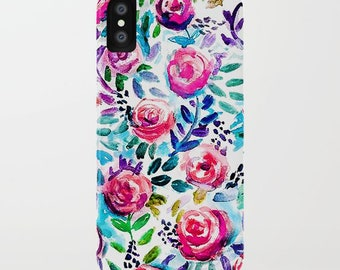 Spring Bouquet iPhone 8 Case Floral Pattern iPhone X Case Cute Case for iPhone 7 Cell Phone Case iPhone 6 Case Mother's Day Gift mother gift