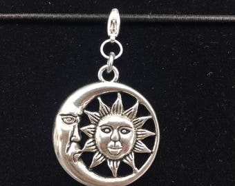 Sun and Moon - Jot Clip-on Planner Charm