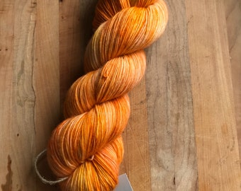 "100% superwash merino single ply Smoky Sunset ""OOAK"""