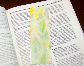 Inspirational Watercolor Bookmark