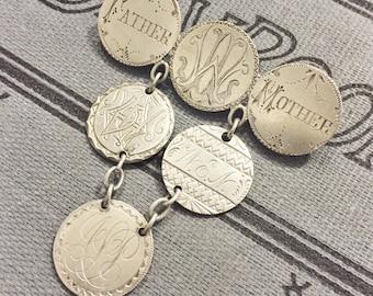Antique 1853-1877 Love Token Brooch