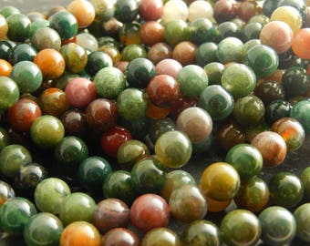 beads Agate 8 mm 10perles set