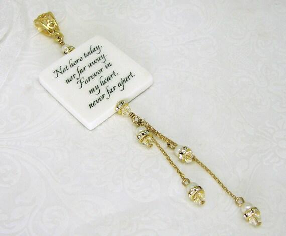 A Wedding Charm for your Bridal Bouquet - Medium - BC1FGFa