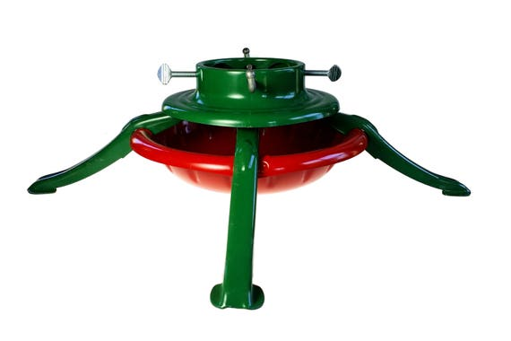 S B Manufacturing Metal Holiday Christmas Tree Stand Schulz