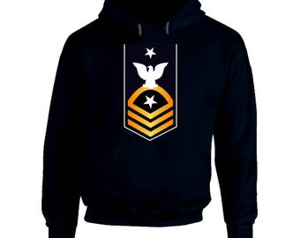 Navy - Cmdcs - Blue - Gold Without Txt Hoodie
