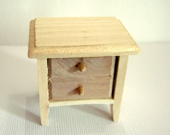 unfinished dollhouse furniture. Miniature Table Small Side Unfinished Pine Wood Dollhouse Furniture 1:12 Scale Diorama - 570