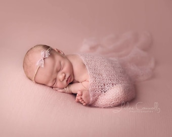 Photography props newborn mohair wrap / baby photo prop wrap / newborn photo prop / newborn stretch wrap / newborn photo outfit boys