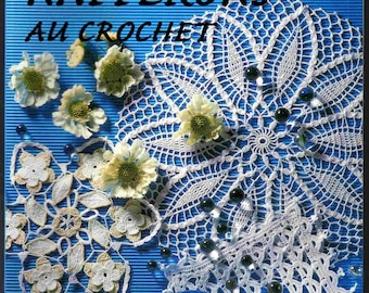 Paper doilies crochet explanation and patterns