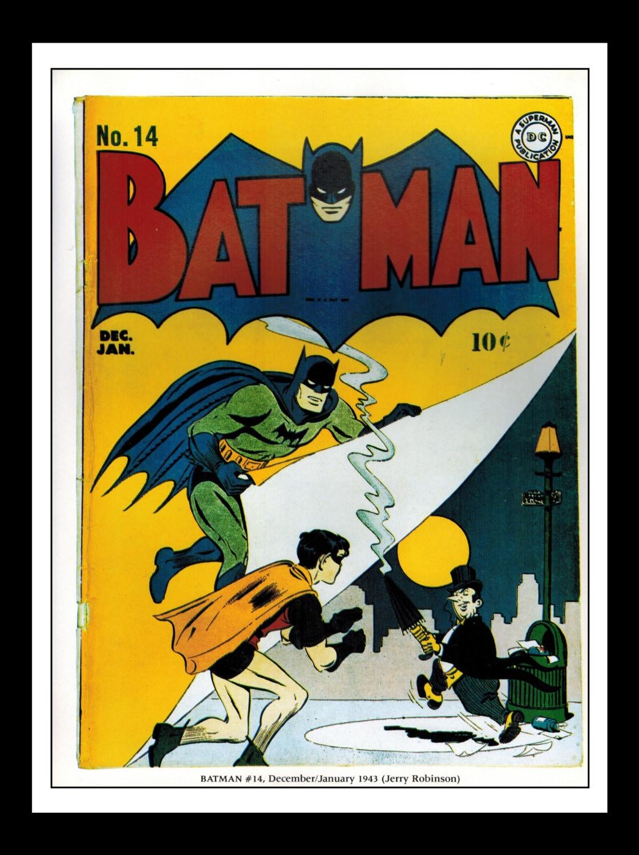 Vintage Print Ad Comic Book Cover : Batman 14 Penguin /
