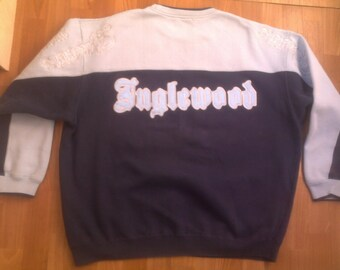 KARL KANI hoodie INGLEWOOD sweatshirt sewn 90s hip-hop vintage rap pullover