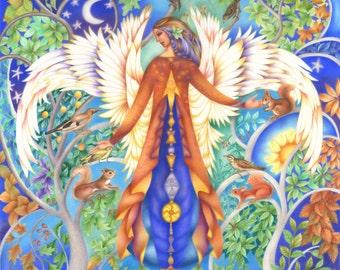 Angel of Trees
