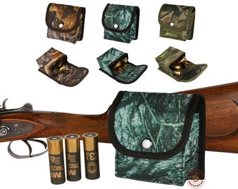 Hunting Cartridge Holder, Cartridge Wallet, Ammo Pouch, Rifle Cartridge Shell Case, Hunter Gift