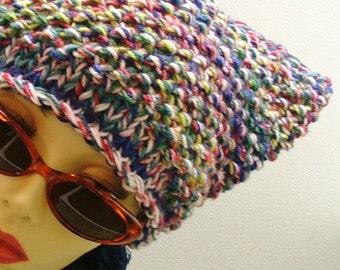 Woven Horned Ear Hat