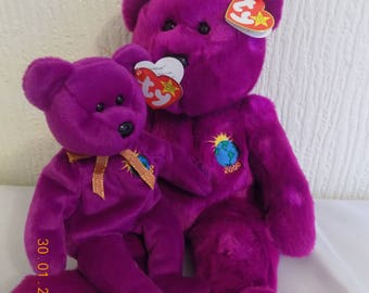 Ty Beanie baby and Buddy bear