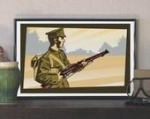 1914 British Tommy Soldie...