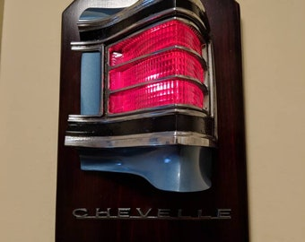 67 1967 Chevelle 396 Tail Light Wall Art Project