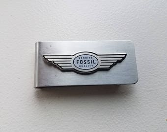 Fossil Stainless Money Clip