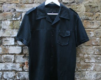 Versace Jeans Couture Short Sleeve Shirt Large