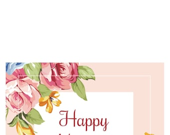 Mother's Day Card Printables
