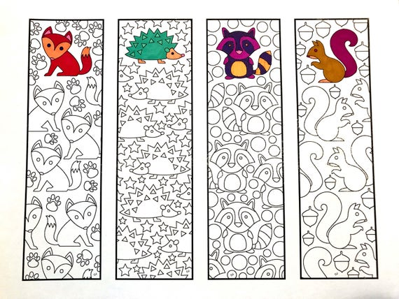 Trust image for free printable bookmarks to color pdf