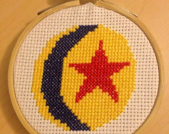 Luxo Ball - Pixar Cross Stitch