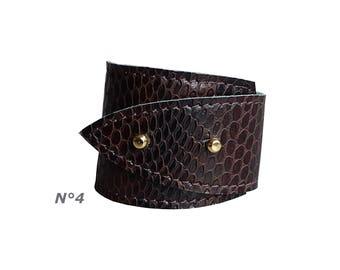 100% leather Cuff/Bracelet