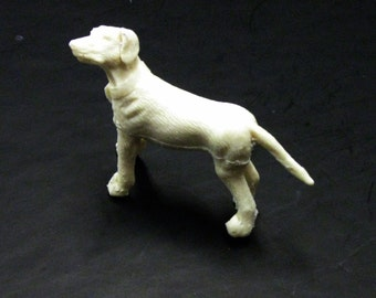 1:25 G scale model resin Dalmatian fire truck dog figure